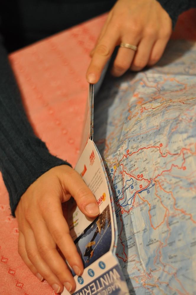 Mappa e mani
