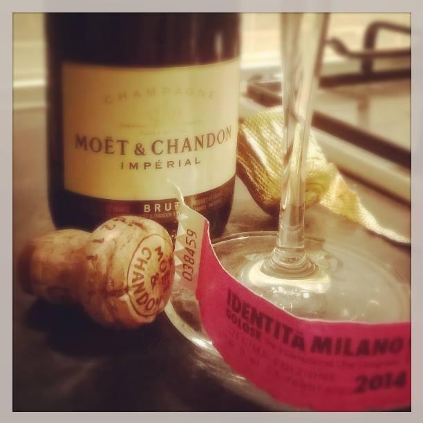 champagne e Identità Golose