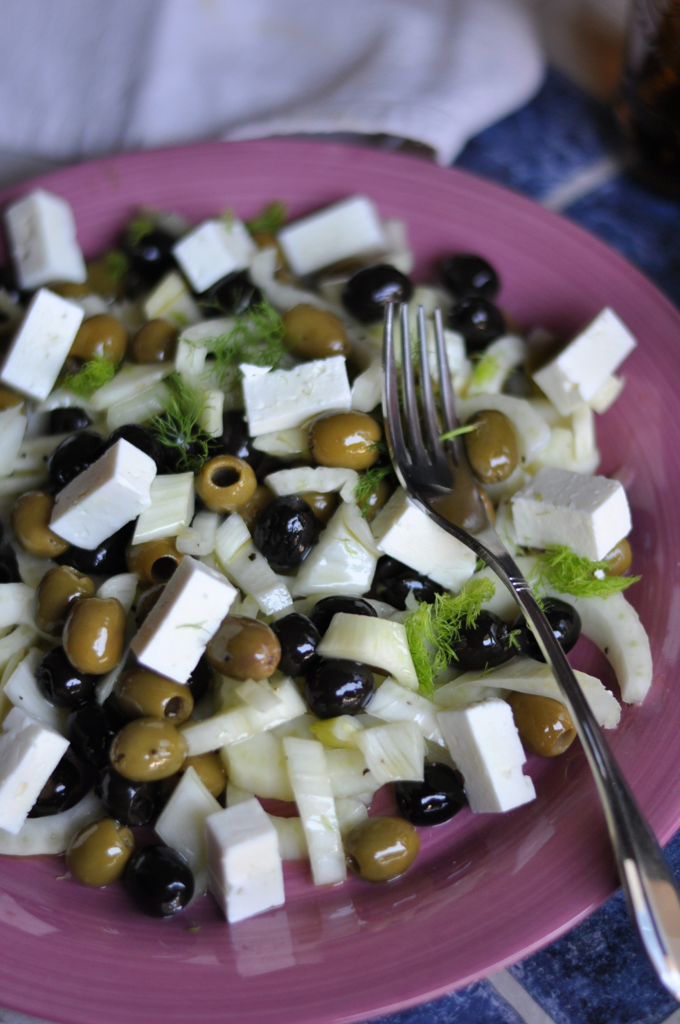 insalata di olive